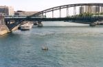 Lancement d'un radeau-Paris